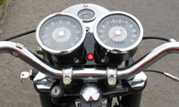 Triumph T100T Universal fit Charge Warning light